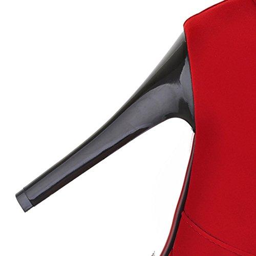 AIYOUMEI AIYOUMEI Boot Women's Women's Classic Red wSCqqB5