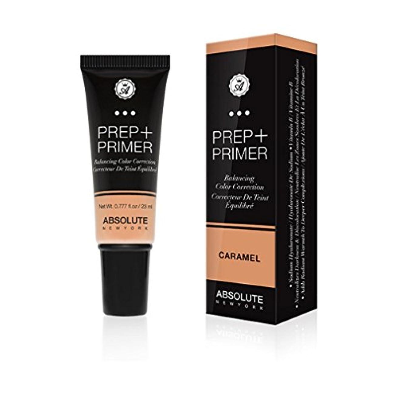 称賛一杯動的(3 Pack) ABSOLUTE Prep + Primer - Caramel (並行輸入品)