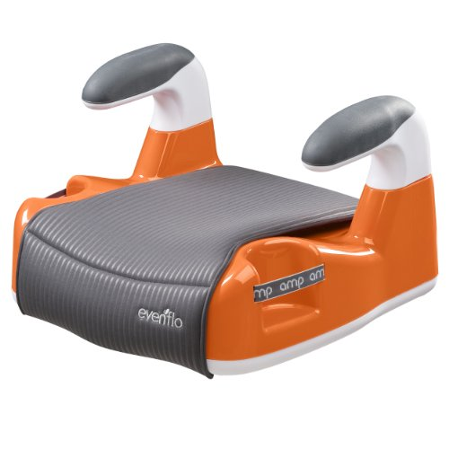 evenflo amp performance no back booster car seat orange baby kids zone. Black Bedroom Furniture Sets. Home Design Ideas