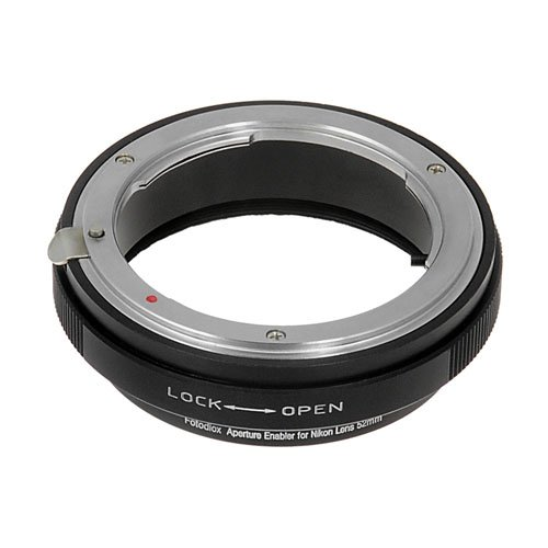 Fotodiox Aperture Control 52mm Filter for Nikon G/DX Lens in Reverse Mount for Macro Photography