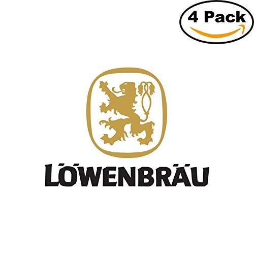 lowenbrau-beer-logo-alcohol-4-vinyl-stickers-decal-bumper-window-bar-wall-4x4
