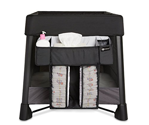 4Moms Breeze Diaper Storage Caddy, Black