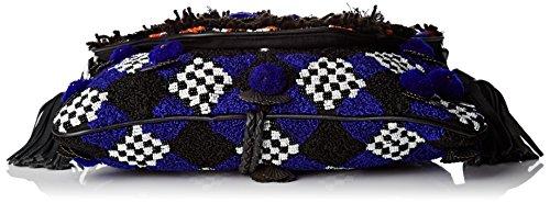 Antik Batik Iman Wallet - Borse organizer portatutto Donna, Multicolore (Multico), 5x15x28 cm (W x H L)