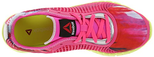 Reebok Womens Z Goddess Running Shoe Dynamic Pink/Solar Yellow/Matte Silver X0XQgsB