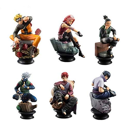 Grocoto Action & Toy Figures - 6pcs/Set Naruto Action, used for sale  Delivered anywhere in USA