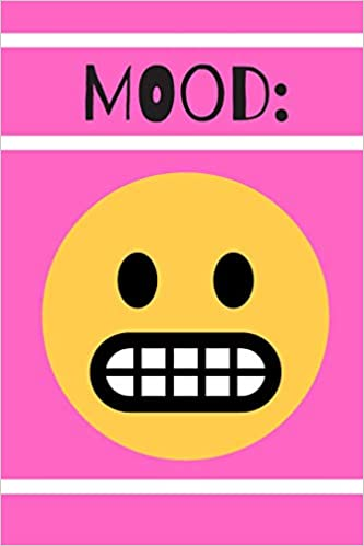 Emoji Mood Journal: Nervous: A Blank Lined Notebook for