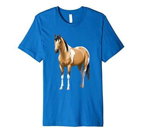 Buckskin Pinto Dun Paint Quarter Horse T-shirt ()