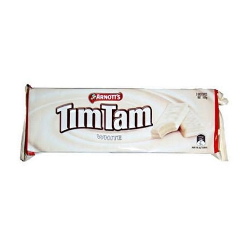 Tim Tam White Chocolate Biscuit Cookie 165g (Pack of 6)