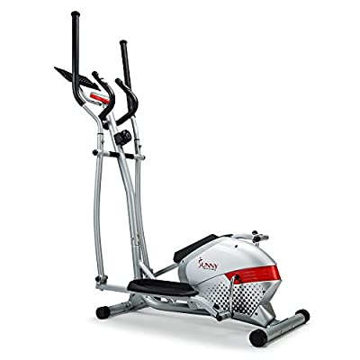 Sunny Health & Fitness SF-E3416H Magnetic Elliptical Trainer with Tablet Holder