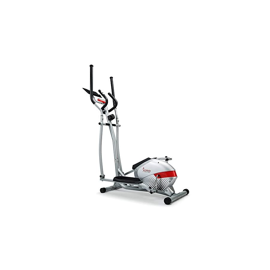 Sunny Health & Fitness SF E3416H Magnetic Elliptical Trainer with Tablet Holder