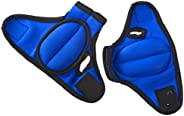 ProSource Weighted Gloves, Pair of 0.9kg. (2 lb) Neoprene Hand Weights for Cardio Workouts, Kickboxing, MMA, A