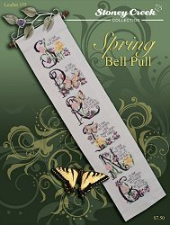 Spring Bell Pull (Leaflet 155) Cross Stitch Chart and Free Embellishment