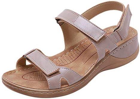 [해외]Aniywn Women`s Ladies Low Wedges Causal Shoes Beach Sandals Women Ankle Strap Buckle Sandals for Holiday Pink / Aniywn Women`s Ladies Low Wedges Causal Shoes Beach Sandals Women Ankle Strap Buckle Sandals for Holiday Pink