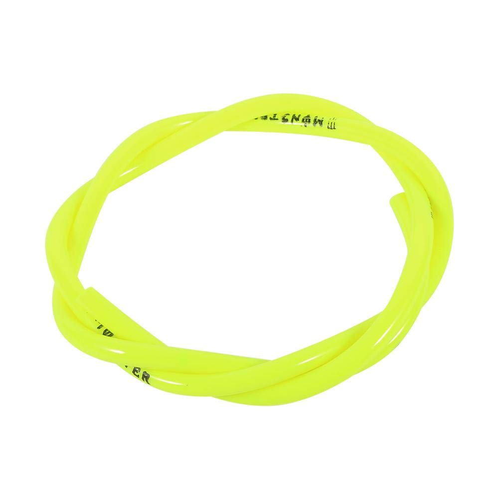 Yellow 2 pcs 1 Meter Fuel Oil Gas Line Hose Colorful Gas Hose Tube Pipe Petrol For Motorcycle Dirt Pit Bike ATV