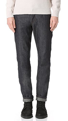 Hemp Jeans (Naked & Famous Men's Weird Guy Hemp Blend Lightweight Selvedge Jeans, Indigo,)