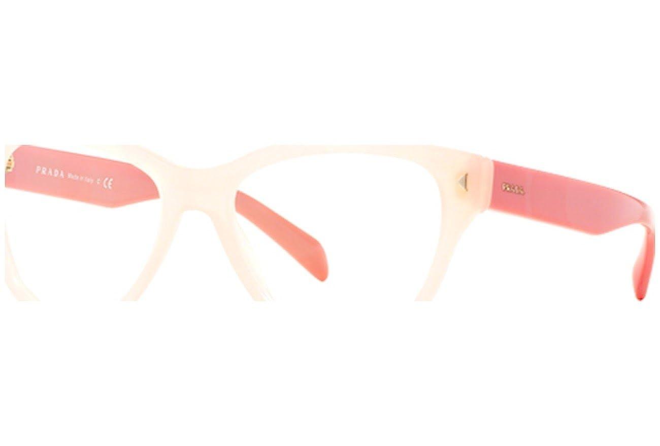 34912418f035 Eyeglasses Prada PR 23SV UEW1O1 OPAL PINK at Amazon Men s Clothing store