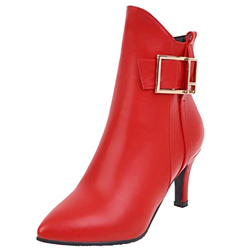 Classic Red Classic Boot Red Boot Women's Women's Classic Women's AIYOUMEI AIYOUMEI AIYOUMEI HnSOn6qU