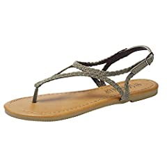 There are light and beautiful flannel woven sandals. If you want to travel or attend a wedding, they will be your best choice.              Unique and comfortable designAs is known to all, the pretty braided straps of these sa...