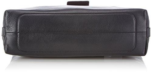 Handtasche Cinque 9000 Lauretta Mit Überschlag schwarz Cuero Bolso Mujer Schwarz De Mano Negro 55Tr7px