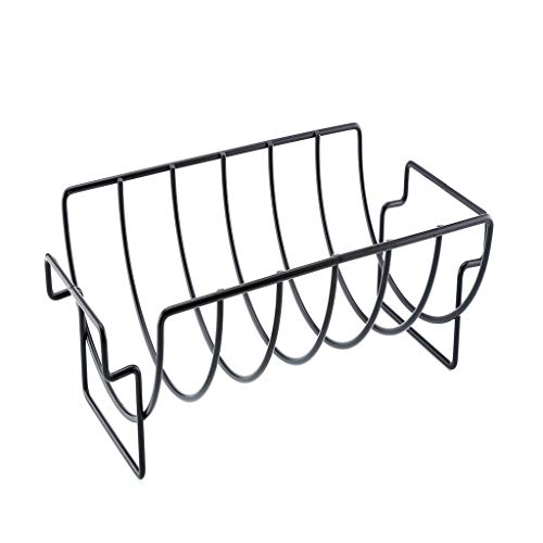 NewKelly Durable Non Stick Outdoor Grilling BBQ Chicken Beef Ribs Steel Rack ()