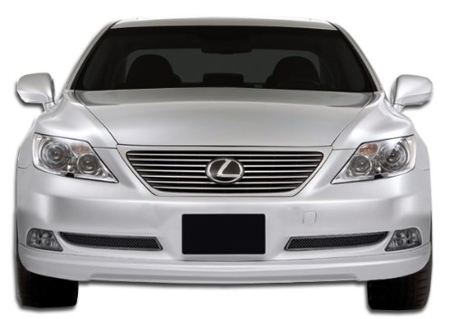 Duraflex ED-WUK-744 W-1 Front Lip Under Spoiler Air Dam - 1 Piece Body Kit - Compatible For Lexus LS - Lexus 2007-2009
