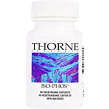 Thorne Research - Iso-Phos - Phosphatidylserine Isolate Supplement to Support Brain Function - 60 Capsules