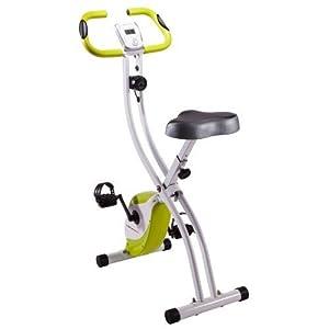 Ultrasport Heimtrainer F-Bike 150, Weiss/Grün, 331400000070
