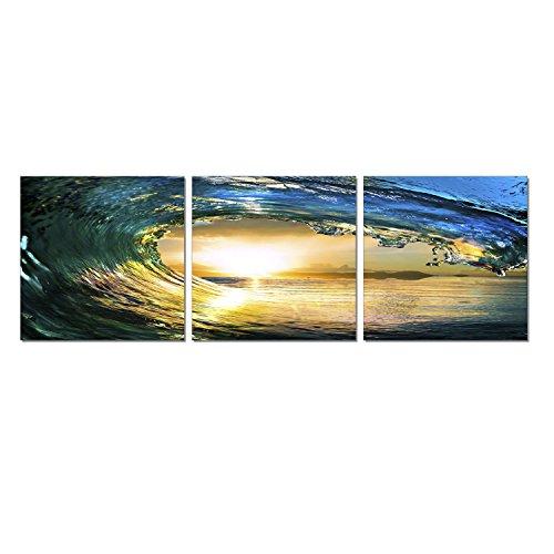 FURINNO Medium Density Photography Triptych