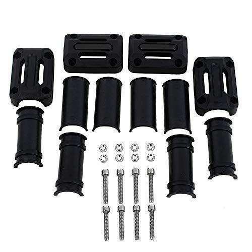 1 Pair Bike Handlebar End Stopper MTB Bicycle Grip Firm Handlebar Caps LT