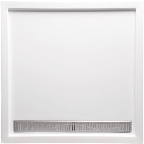 (Americh C3838FS-BI Shower Base with Channel Drain, 38