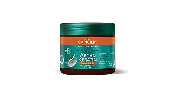 Amazon.com: Linha Argan Keratin Capicilin - Mascara De ...