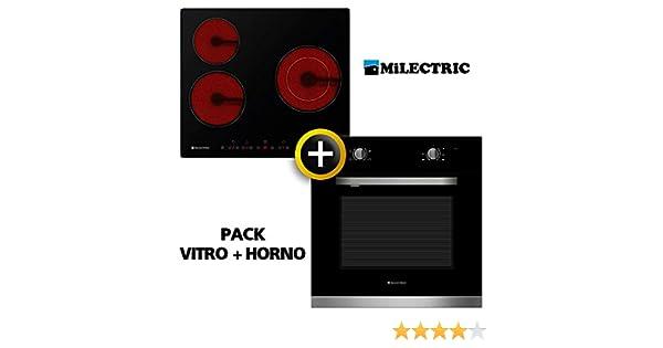 Pack VITRO + Horno MILECTRIC (Placa Encimera mas Horno ...