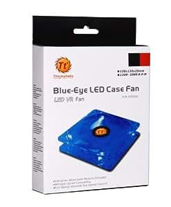 Thermaltake Blue-Eye Silent Smart 120mm Blue Led Case Fan with Adjustable Fan Speed Control AF0026