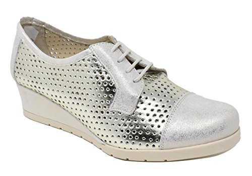 MARROQUI pour Ville Femme Chaussures Beige à de Lacets SANCHEZ aCqarp