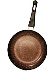 Marble Coating Nonstick Frying Pan (24CM/9.44 in 3 Layers)