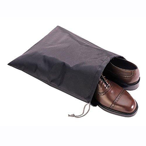 6 Waterproof Nylon Travel Bag Set Drawstring Closure Shoe Protection - The Alabama Summit