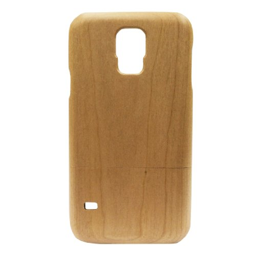 super popular df4d5 9092a Handcrafted Cherry Wood 9600 I9600 Wooden Case Cover Shell Skin for ...
