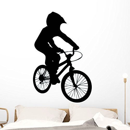 Cheap  Wallmonkeys WM297515 BMX Wall Decal Peel and Stick Graphic (48 in H..