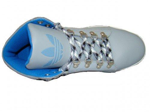 adidas , Baskets pour garçon Gris Silbergrau/Blau