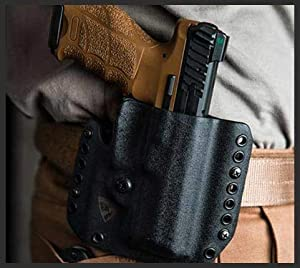 DSG Arms - Alpha - OWB Kydex Holster - Outside The Waistband - Made in USA - Compatible with Glock/HK/Sig/M&P/Most Brands