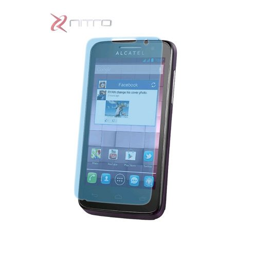 ZNITRO Screen Protector for Alcatel One Touch M'Pop 5020 OT-5020A