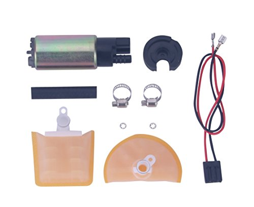 ZIONTE New Universal Electric Intank Fuel Pump With Installation Kit For Chevrolet Honda Mazda Toyota Nissan (Colt Fuel Pump)