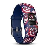 Garmin vívofit Jr. 2 - Adjustable Captain America - Activity Tracker for Kids, 010-01909-12