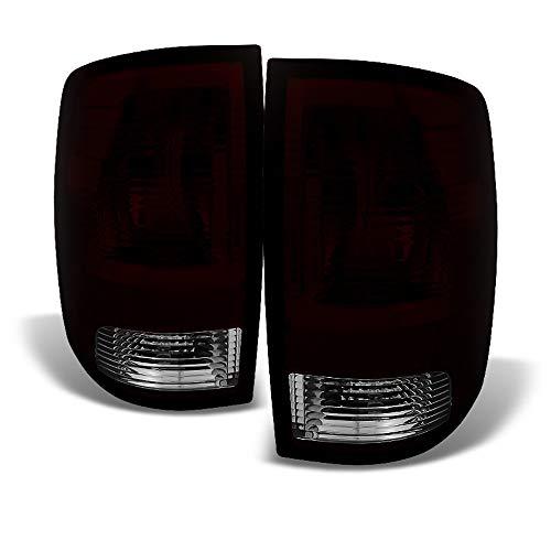 ACANII - For Red Smoke 2009-2018 Dodge Ram 1500 10-18 Ram 2500 3500 Tail Lights Brake Lamps