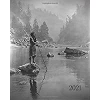 """Image for 2021: Weekly - Monthly Calendar Planner Agenda Appointment Book: January 1, 2021 - December 31, 2021: 8""""x10"""" ( 20.32cm x 25.4cm): Featuring Native American Portraits"""