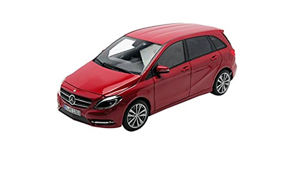 Amazon.com: 2011 Mercedes B180 Red 1/18 Diecast Car Model by ...