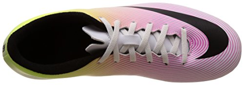 Nike Hommes Mercurial Vortex Fg Football Taquet Blanc / Noir / Volt / Total Orange