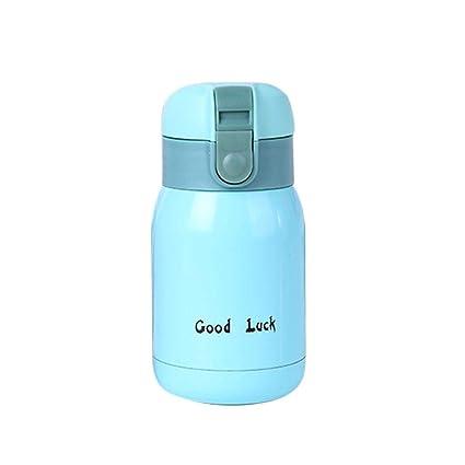 Wetour Mini Frasco de vacío de Acero Inoxidable para niños, Botella de Agua portátil al Aire Libre, Taza de vacío de Viaje