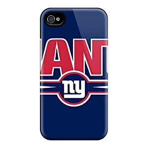 Snap-on Case Designed For Iphone 4/4s- New York Giants