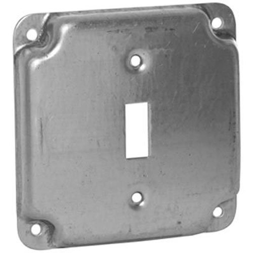 Hubbell-Raco 800C 1 Toggle 4-Inch Square Exposed Work Cover